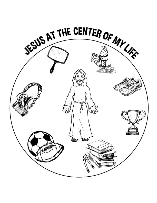 Jesus the Center Poster 01